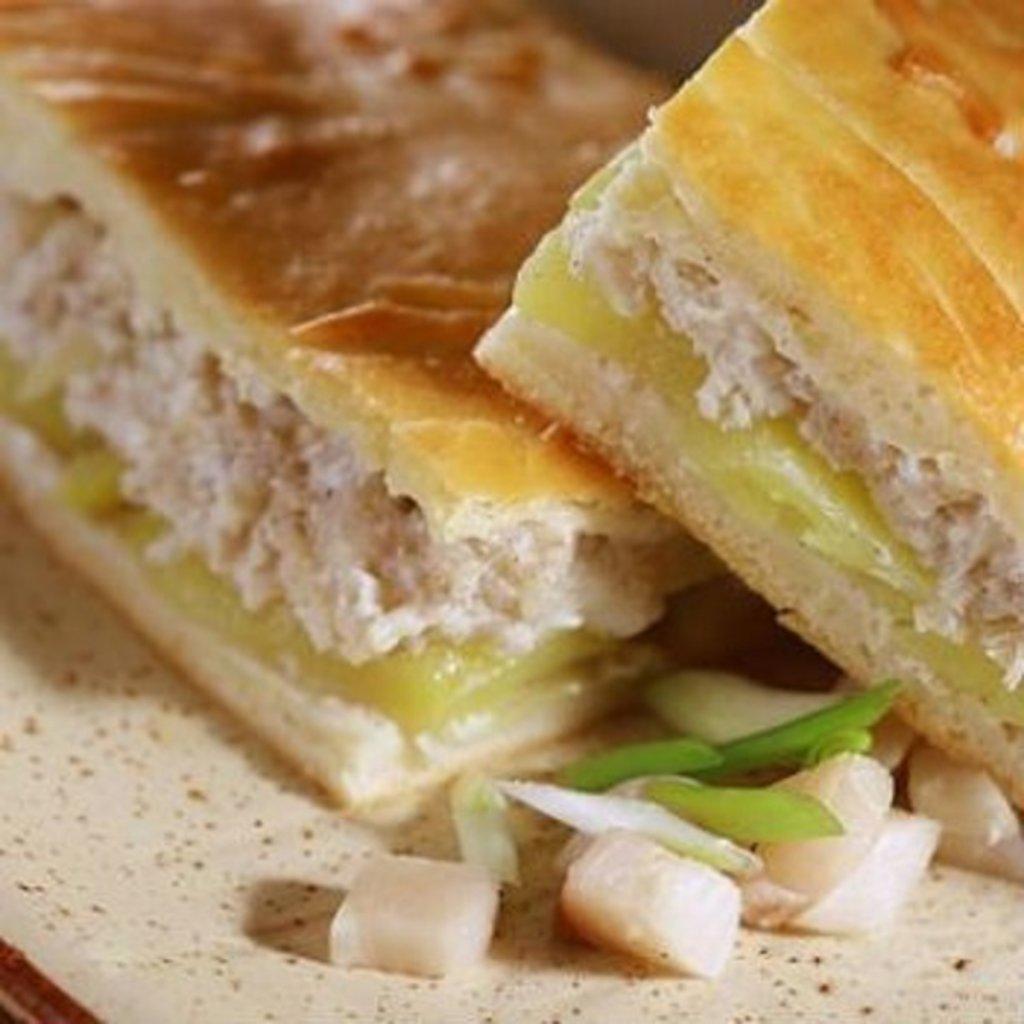 Пироги с рыбой: Пирог с терпугом и картофелем в Обедовъ