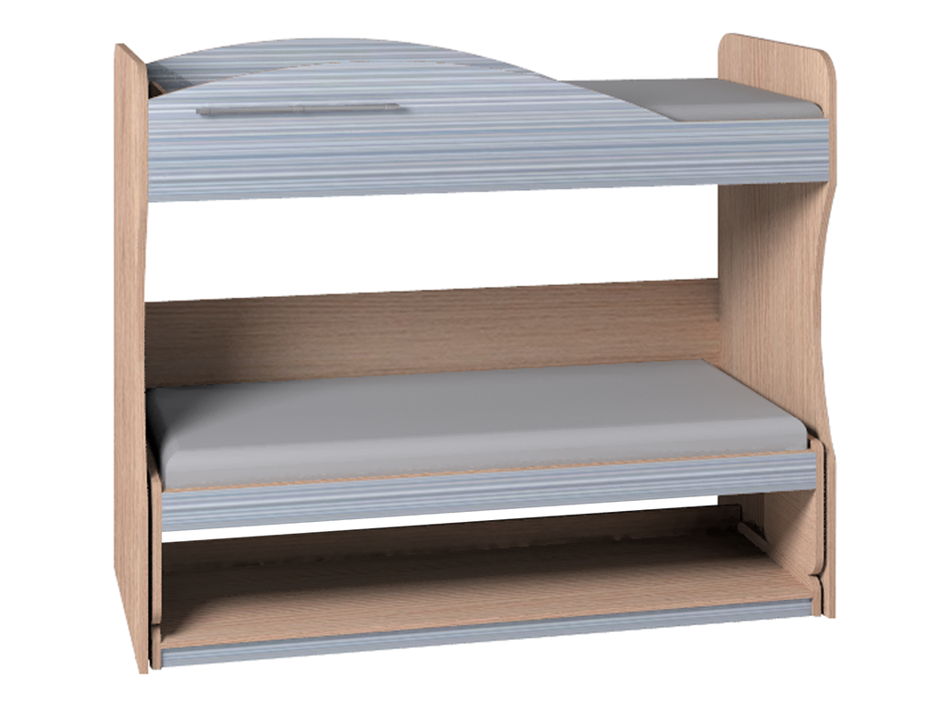 Детские и подростковые кровати: Кровать-Трансформер 2 Калейдоскоп в Стильная мебель