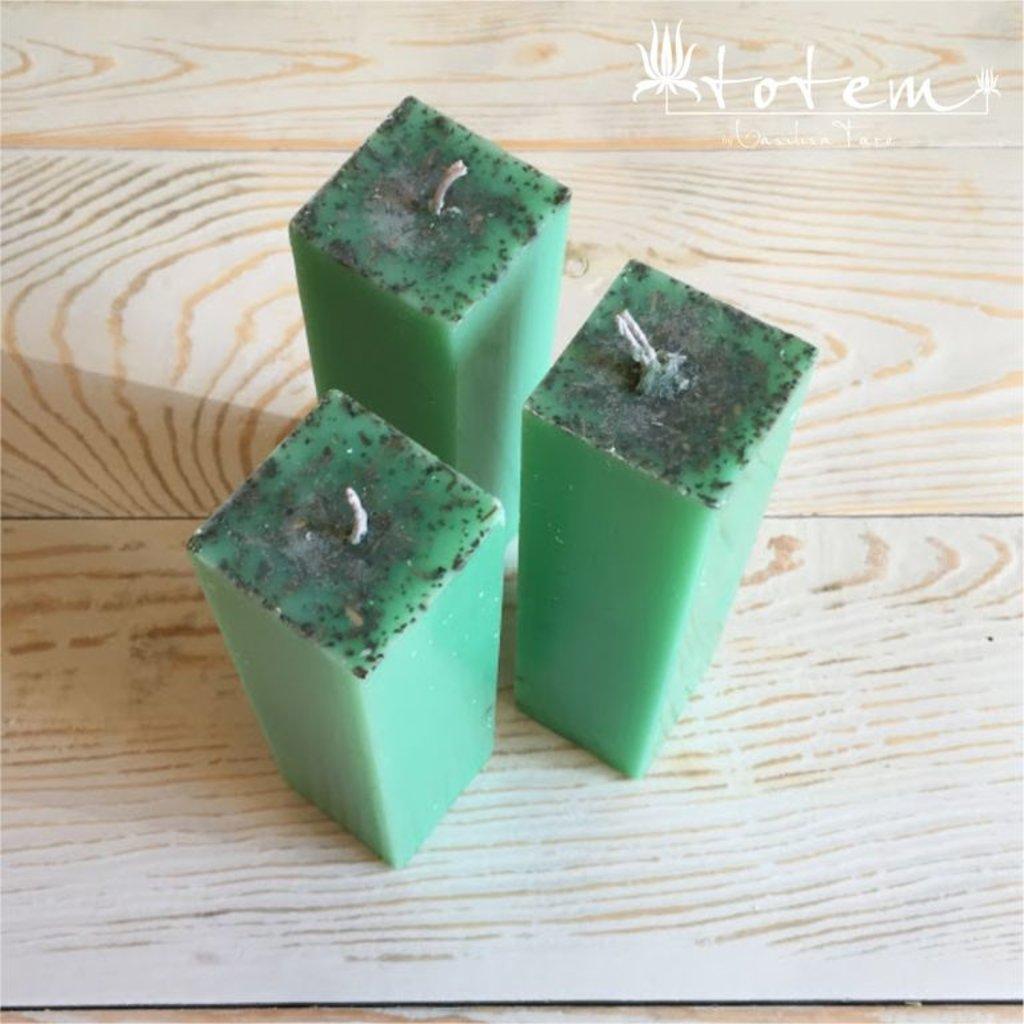 Свечи: Зелёная свеча в ТОТЕМ