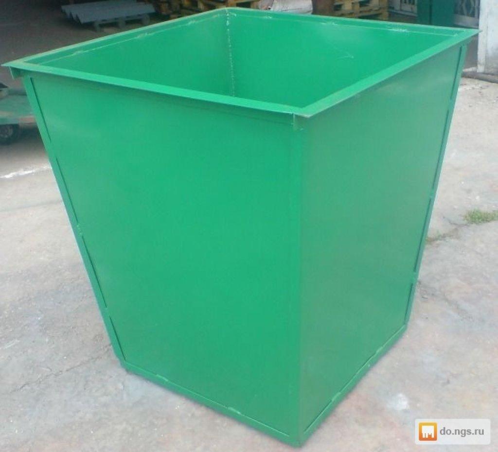 Металлические и кованные изделия: Контейнер мусорный в Мир Плитки /Планета Ковки