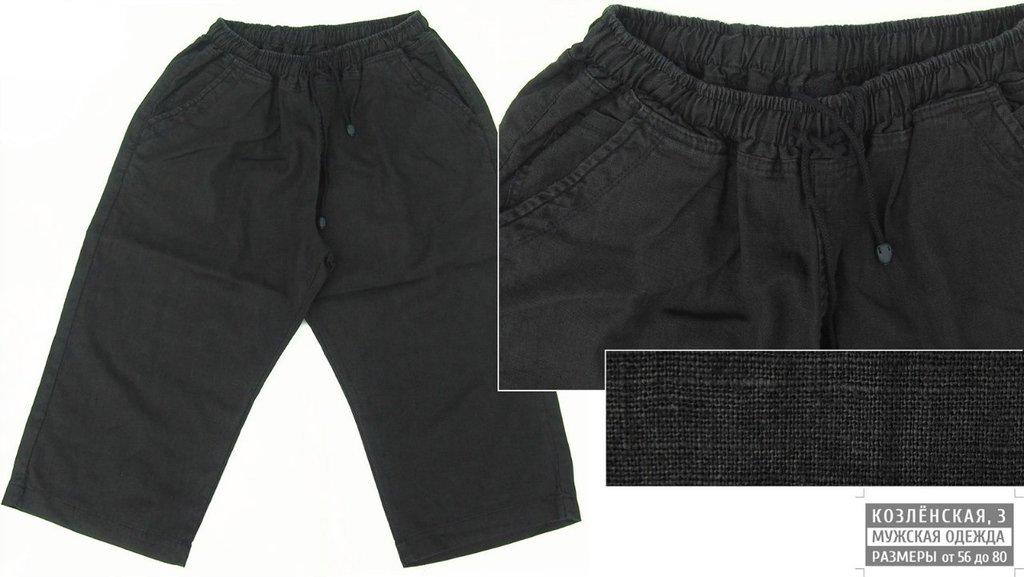 Шорты: Льняные шорты в Богатырь, мужская одежда больших размеров