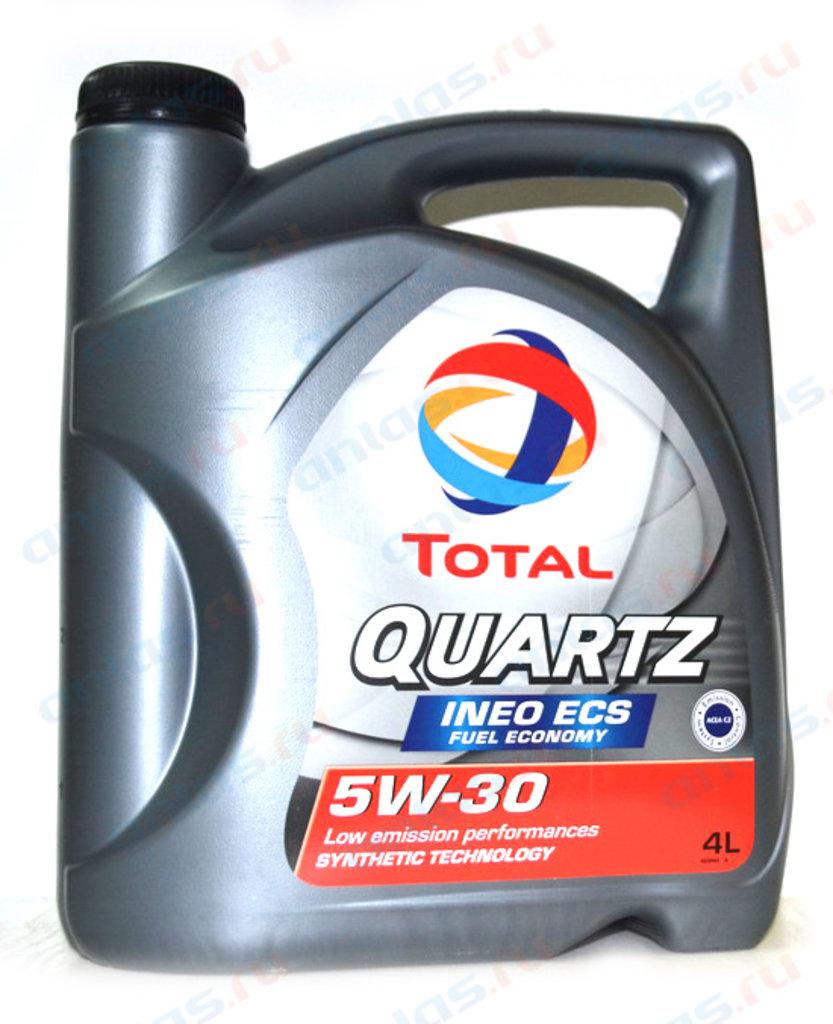 ГСМ: Масло Total 5/30 Quartz Ineo ECS синтетическое 4 л в MОТОР