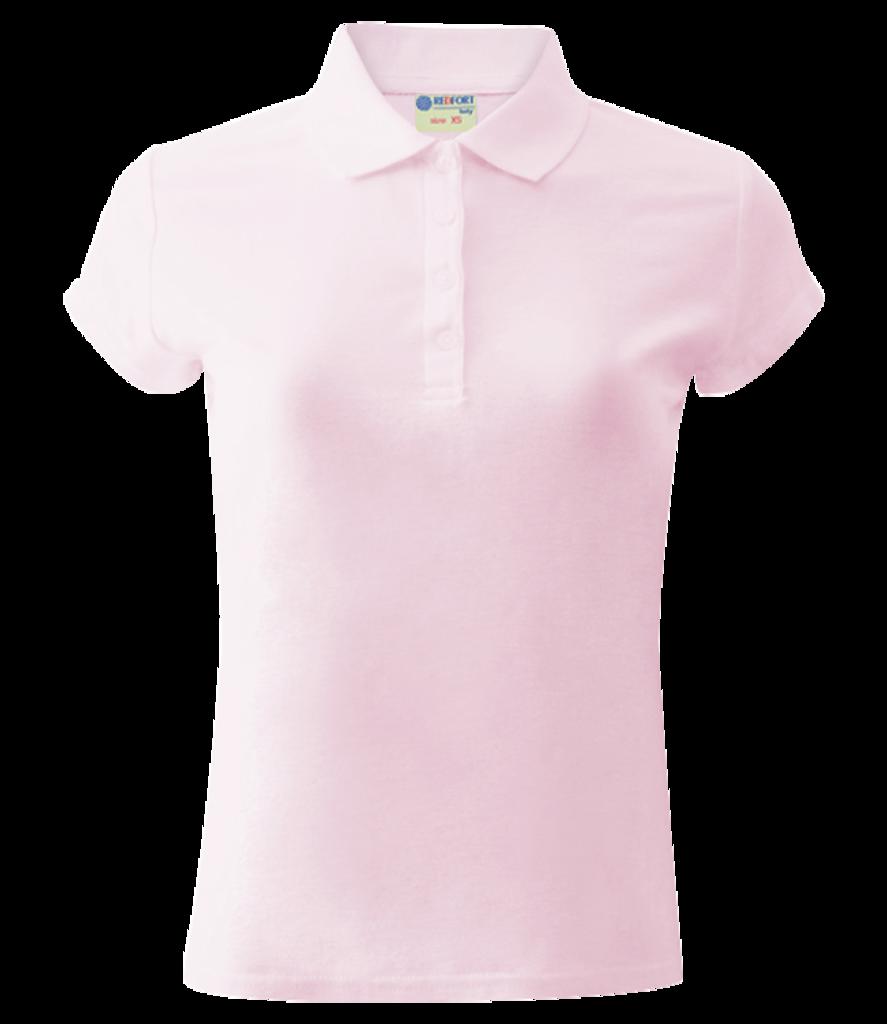 Футболки женские: Рубашка-поло хлопковая женская, 205 г/м2 в Баклажан, студия вышивки и дизайна