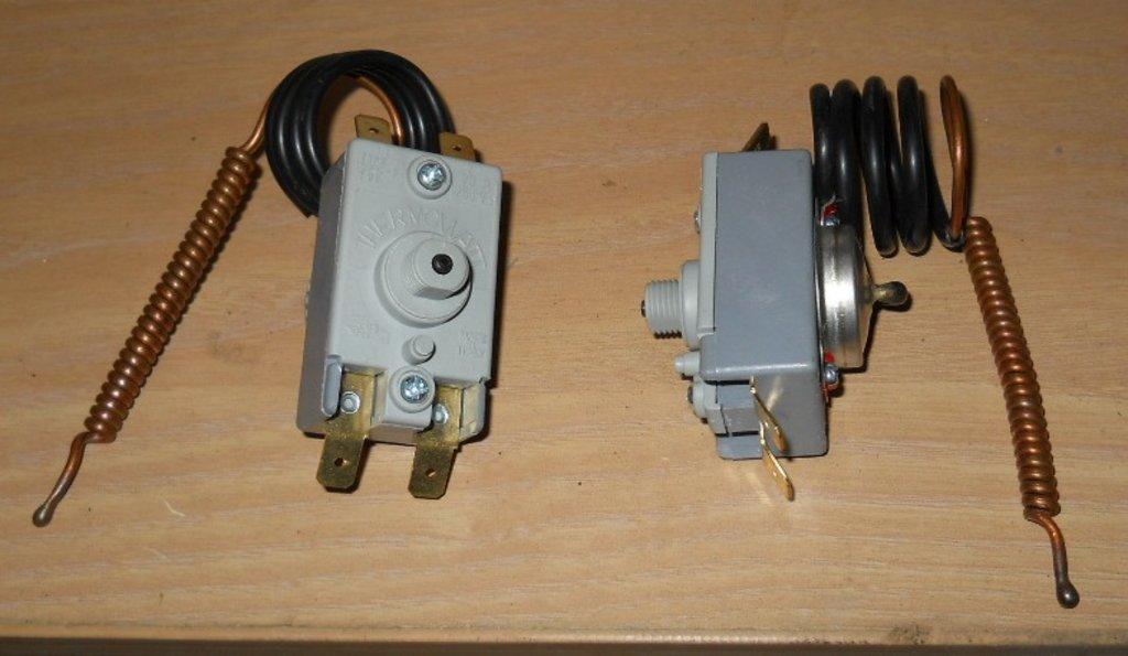 Запчасти  для водонагревателей: Термостат защитный для водонагревателей (4 клеммы) в АНС ПРОЕКТ, ООО, Сервисный центр