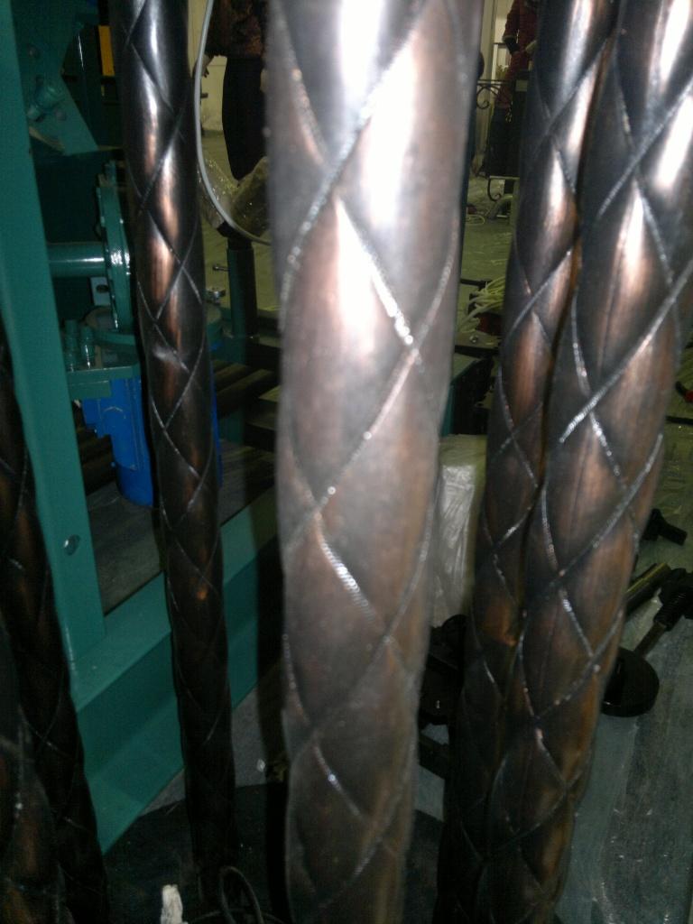 Трубы, общее: Витая труба в Мастерская по изготовлению кованых изделий