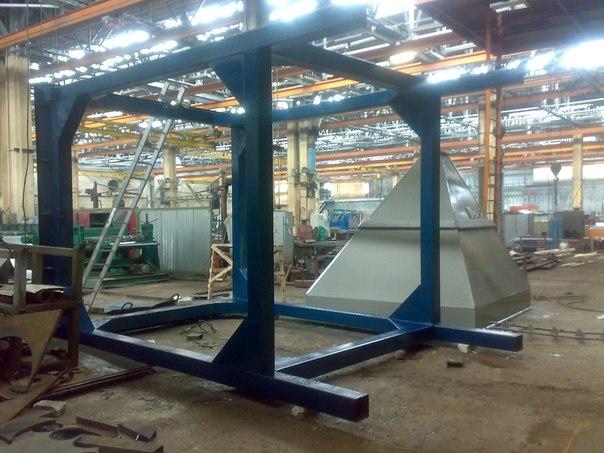 Металлоконструкции и промздания, общее: Изготовление металлоконструкций в МЕХЦЕХ