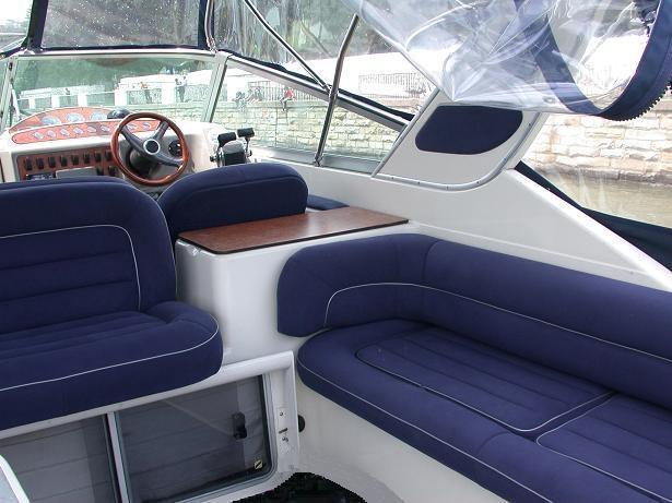 Перетяжка салона: Отделка салонов яхт, катеров. Перетяжка салонов яхт, катеров, гидроциклов в SVM-Tuning