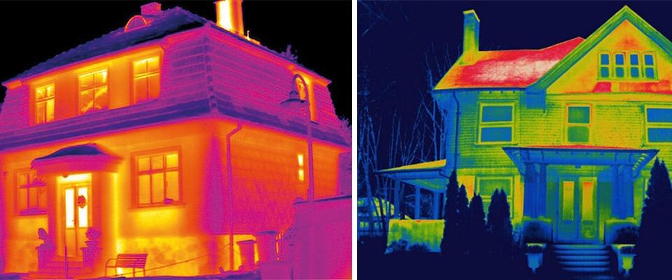 Тепловизионное обследование зданий и сооружений: Тепловизионное обследование в Иркутская Тепловизионная Компания