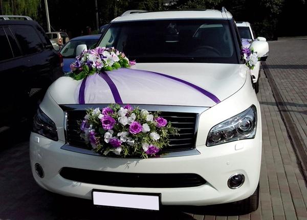 Украшения для автомобилей на свадьбу - купить 55