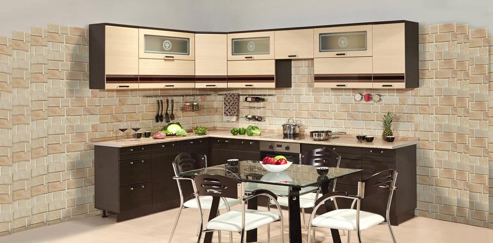 """Кухонная мебель, общее: Модульная кухня """"Олимпия"""" в Гармония"""