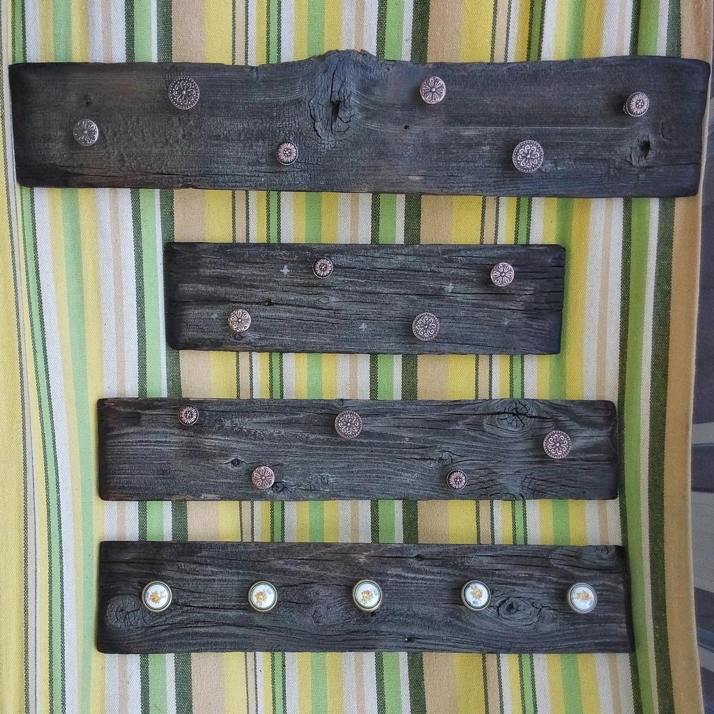 Деревянные элементы для декорирования: Вешалки ручной работы в эко стиле в КемАрт