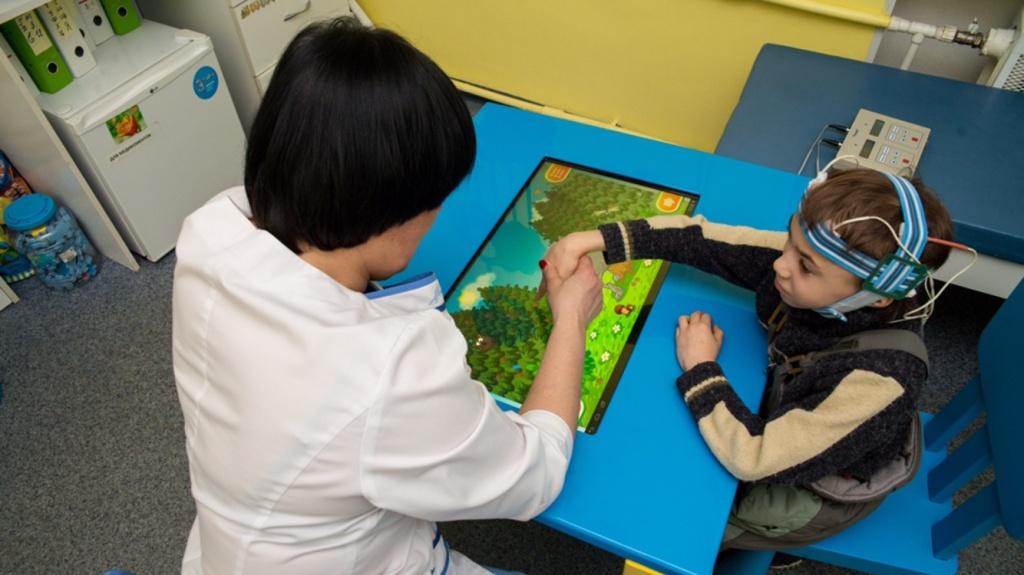 Восстановительное лечение и реабилитация: Микрополяризация головного мозга в Neocortex, детский медицинский центр