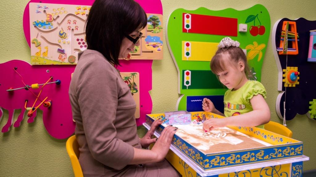 Восстановительное лечение и реабилитация: Песочная терапия  в Neocortex, детский медицинский центр