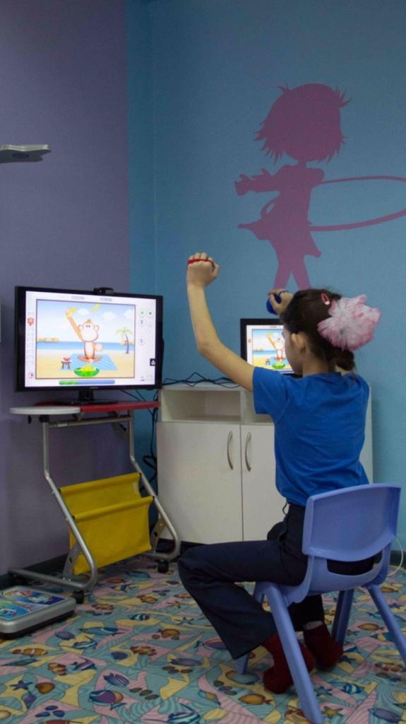Восстановительное лечение и реабилитация: ВидеоБиоуправление в Neocortex, детский медицинский центр