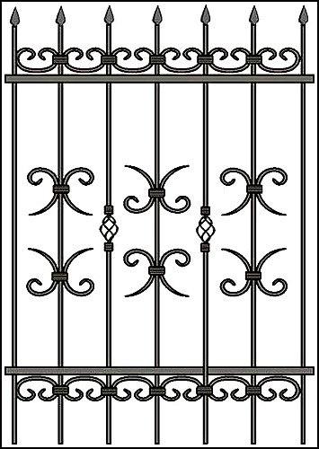 Решетки на окна и двери: Решетки в Уралметконструкция, ООО