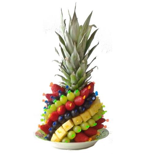 Букеты из конфет, фруктов, овощей, чая: Фруктовый букет №11 в Цветы на Холмах