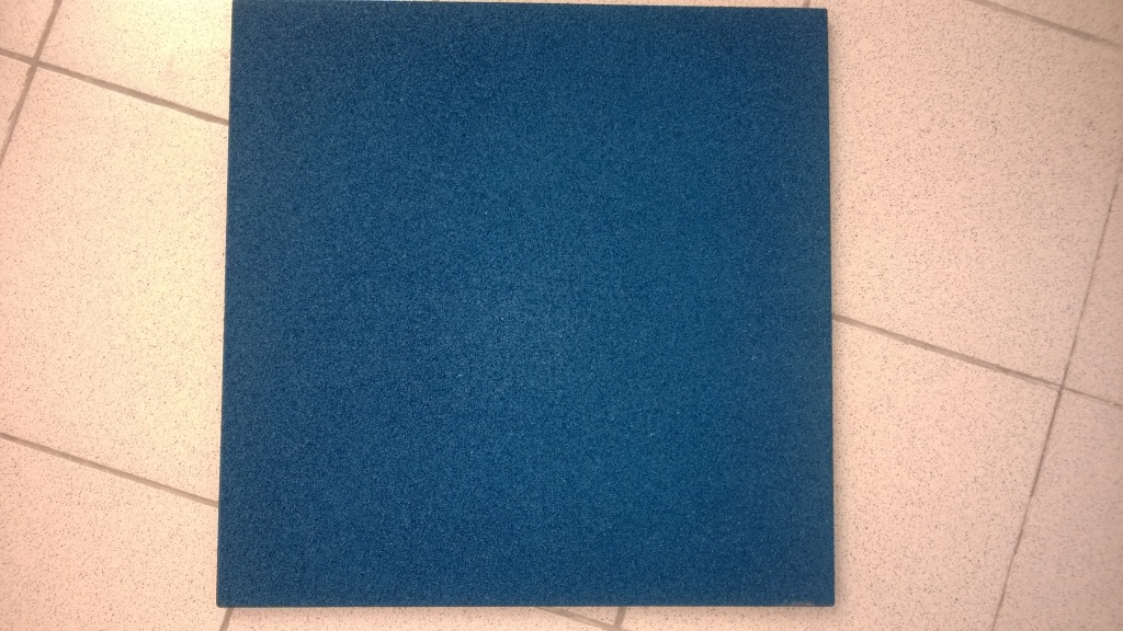 Резиновое напольное покрытие: Резиновая плитка EcoStep 500*500*40 мм в Экостэп-Юг