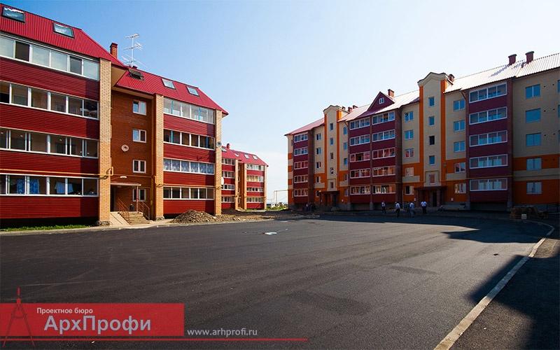 Проектирование домов, коттеджей и коттеджных городков: Проектирование объектов жилого назначения в АрхПрофи, ООО
