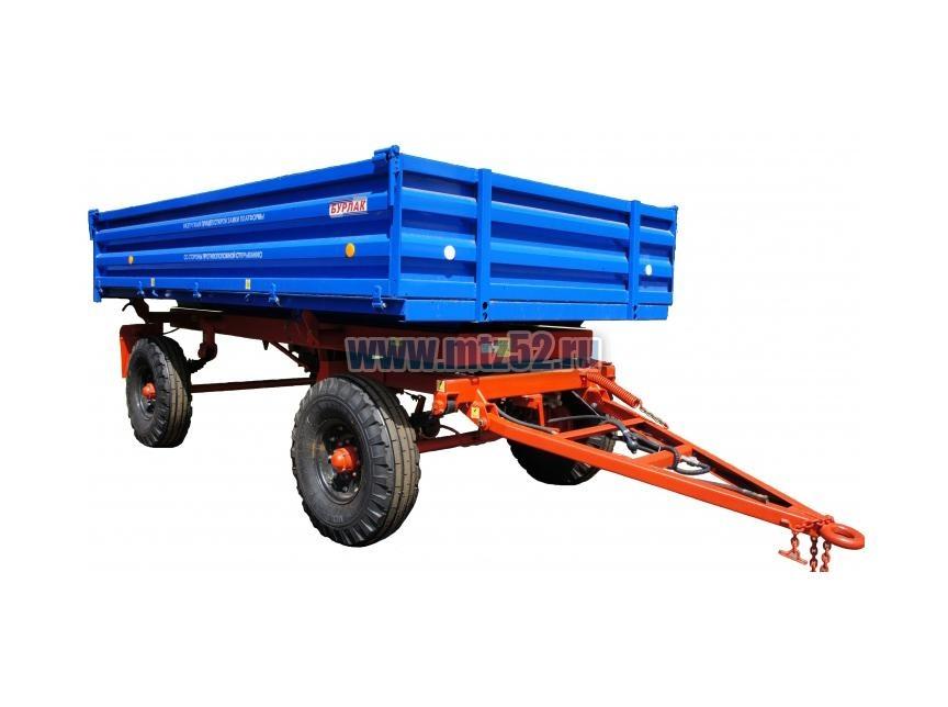 Прицепы и полуприцепы: Прицеп тракторный самосвальный 2ПТС-4,5 в Территория