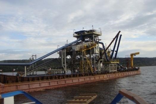 Агрегат сортировки для плавучей установки  в Обуховская промышленная компания