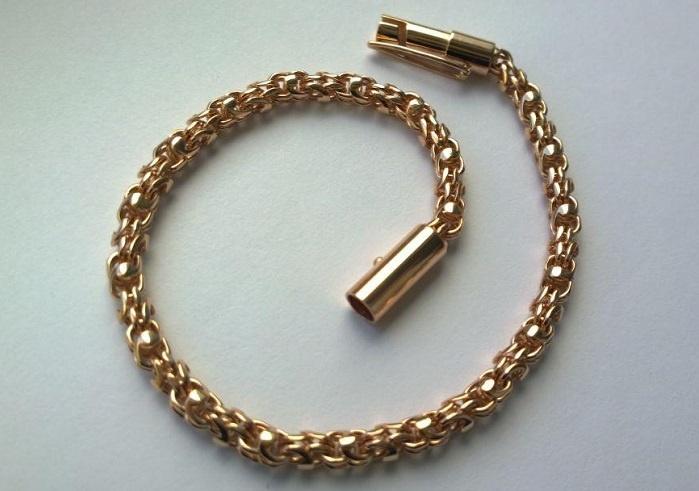 Изготовление золотых цепей и браслетовна заказ в Агатес