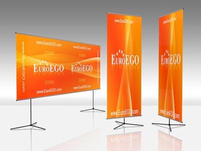 Рекламные и выставочные стенды: Мобильный баннерный стенд в ПромоУрал
