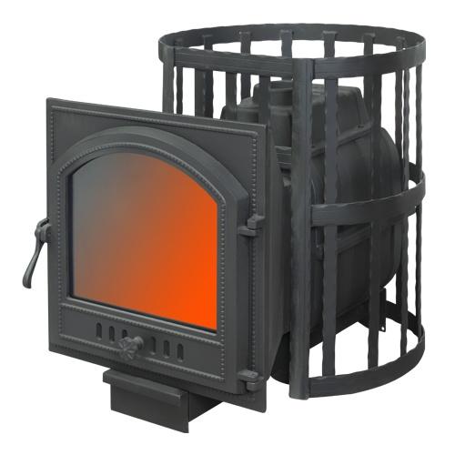 Чугунная печь для бани Визувий, FireWay в Магазин Постоянных Распродаж
