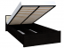 Кровати: Кровать с подъемным механизмом (1400) АМЕЛИ 3 в Стильная мебель