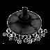 Подшипники качения, опоры, фланцы, крестовины барабана: Фланец барабана СМА Ardo (Ардо) с верхней загрузкой белья с крепежом, подшипник 203, сторона шкива, под винт, cod088 для.704004900 в АНС ПРОЕКТ, ООО, Сервисный центр