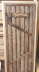Двери для саун и бань: ДВЕРЬ БАННАЯ ЛИПА  «БАНЬКА»  (ДГС СОСТАРЕННАЯ) 70х1900 сорт экстра в Погонаж