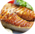 Горячие блюда: Семга под соусом Па-де-капе в Обеды в офис Красноярск