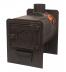 Печи отопительные: Печь отопительная Жара-Бухара 400П б/колец в Сельский магазин