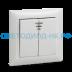 Выключатели, автоматы: Выключатель 2кл с подсветкой VALENZO ASD белый в СВЕТОВОД