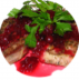 Горячие блюда: Телятина с вишнево-клюквенным соусом в Обеды в офис Красноярск