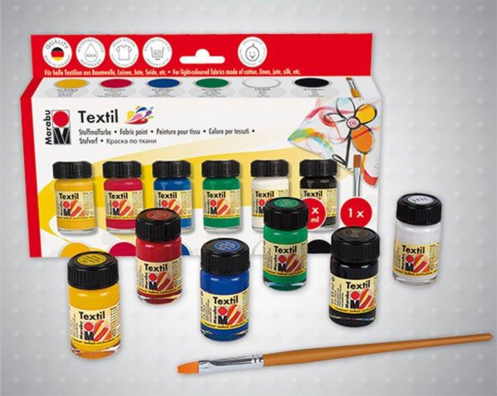 Краски: Краски по ткани Marabu Textil в Палитра