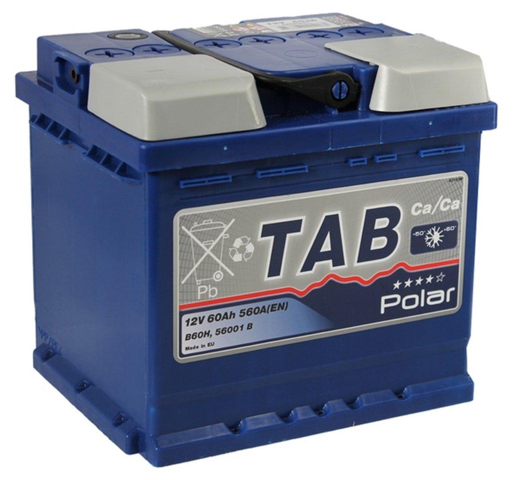 TAB: Аккумулятор TAB POLAR 6СТ- 60 в БазаАКБ