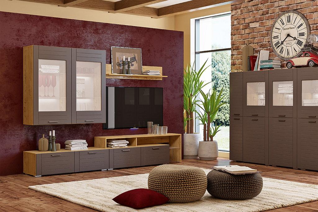 Шкафы, общие: Шкаф навесной LIVORNO НМ 011.30 в Стильная мебель