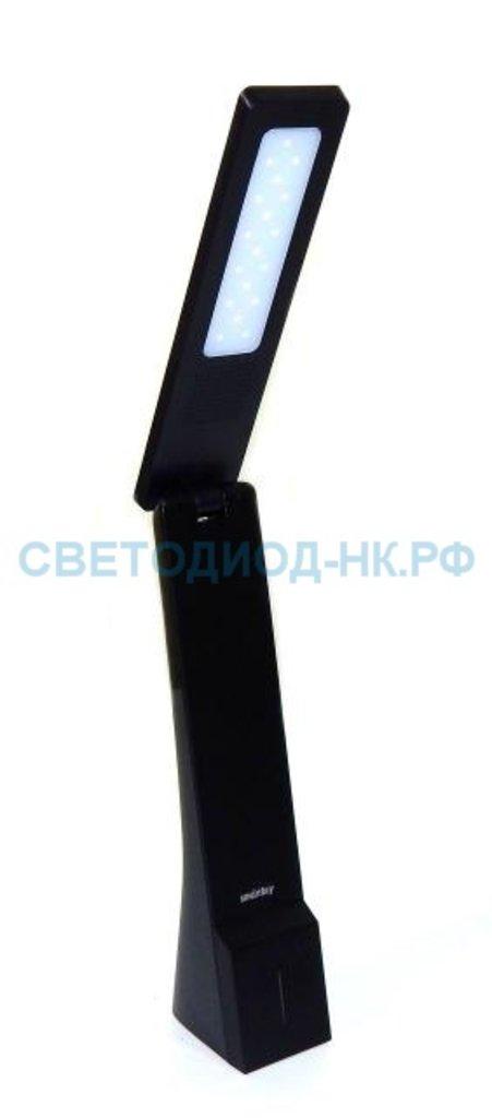 Настольные лампы, ночники: Лампа настольная SMARTBUY светод.5W /3step dim(SBL-DL-5-SD-Black) в СВЕТОВОД