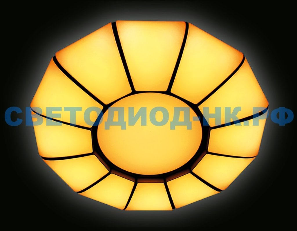 AMBRELLA: СВЕТИЛЬНИК AMBRELLA FP2311 WH 114W D480*480*90 ORBITAL МНОГОФУНКЦИОНАЛЬНЫЙ (ПДУ) в СВЕТОВОД