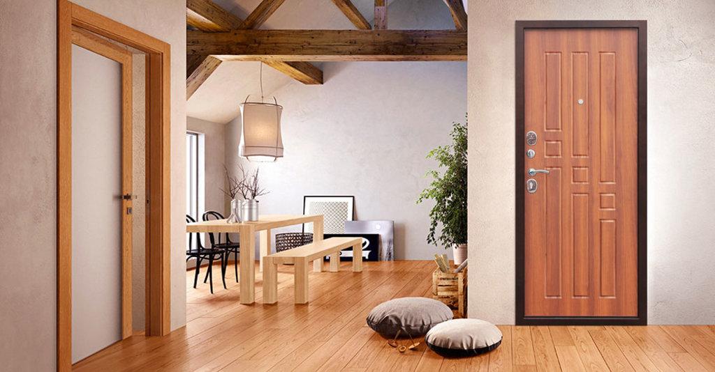 Двери завода Феррони: Входная дверь Garda (Гарда) 8 мм Рустикальный Дуб в Модуль Плюс
