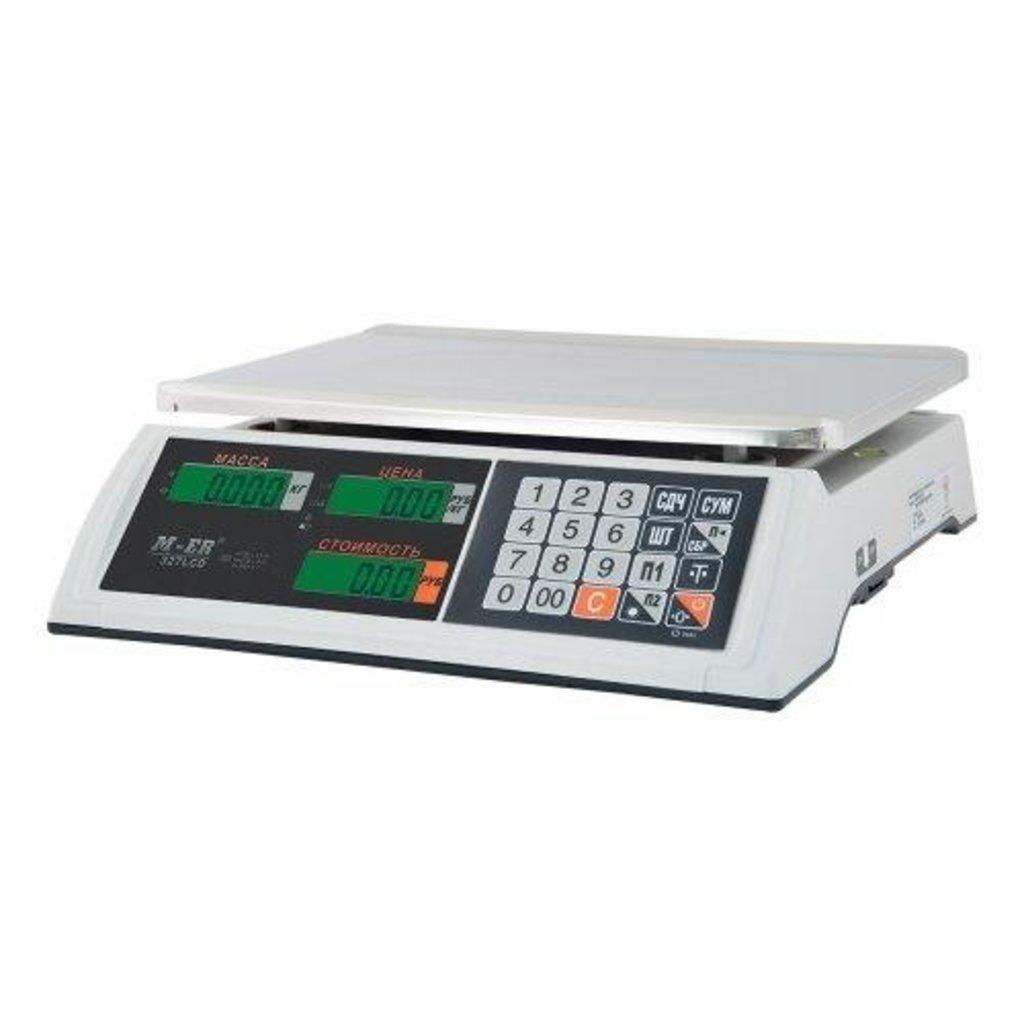 Настольные весы: M-ER 327-32.5 LCD настольные весы в Рост-Касс