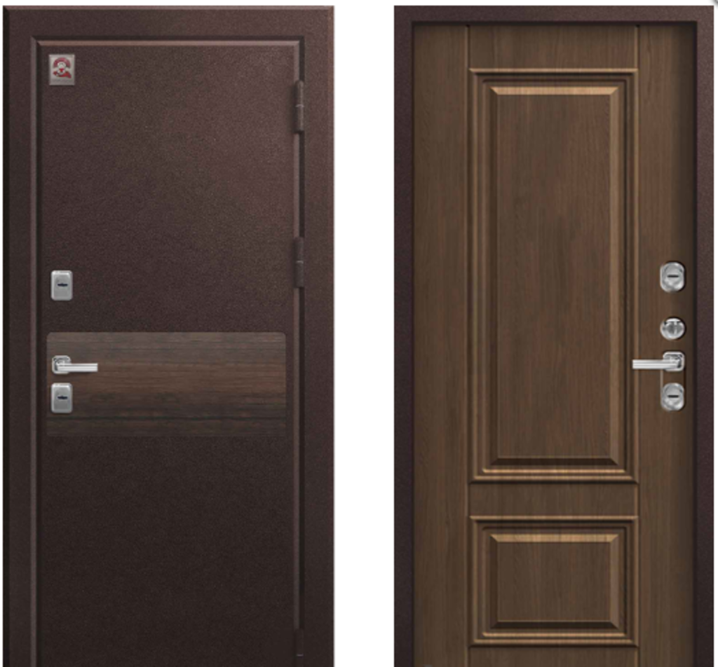 Двери Центурион: Центурион Т2 Premium Шоколадный муар/Дуб янтарный в Модуль Плюс