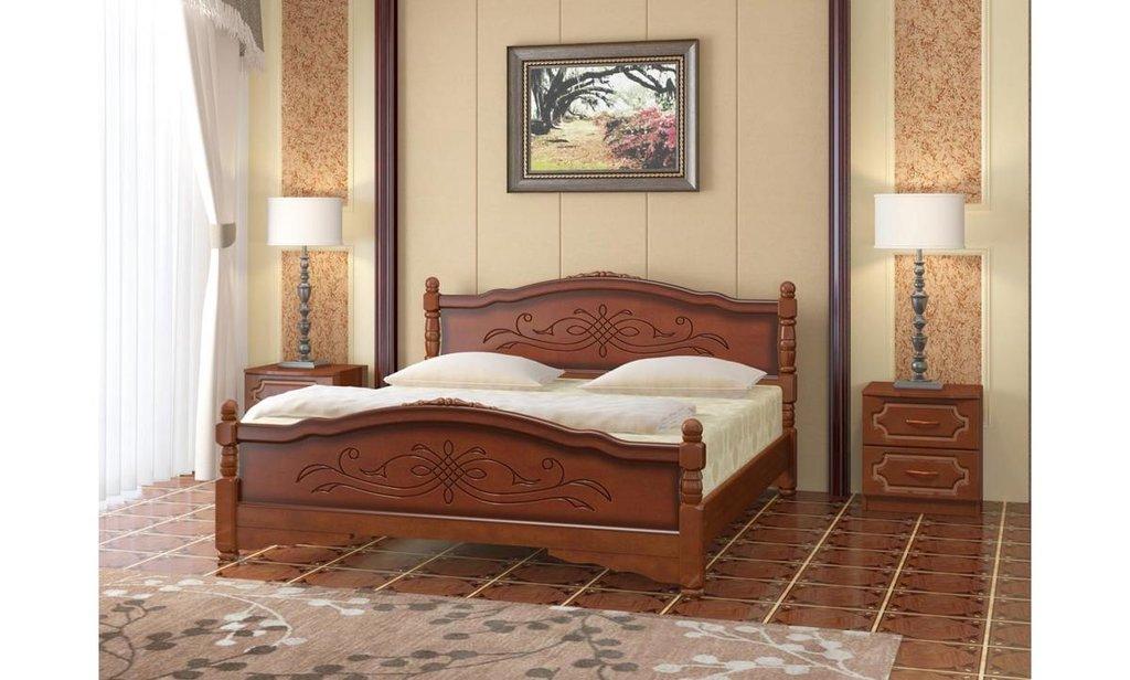 Кровати: Кровать Карина-12 (массив) в Уютный дом