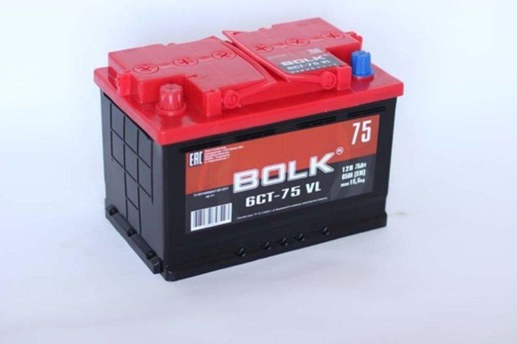 BOLK: BOLK 75 A/h в БазаАКБ