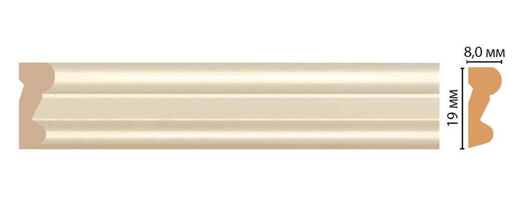 Молдинги: Цветной молдинг DECOMASTER D007-61 (19*8*2400) в Мир Потолков
