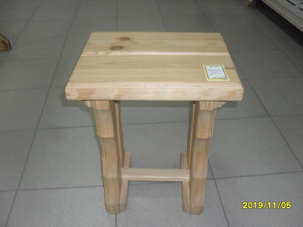 Мебель для саун и бань: Табурет массив (хвоя) в Погонаж