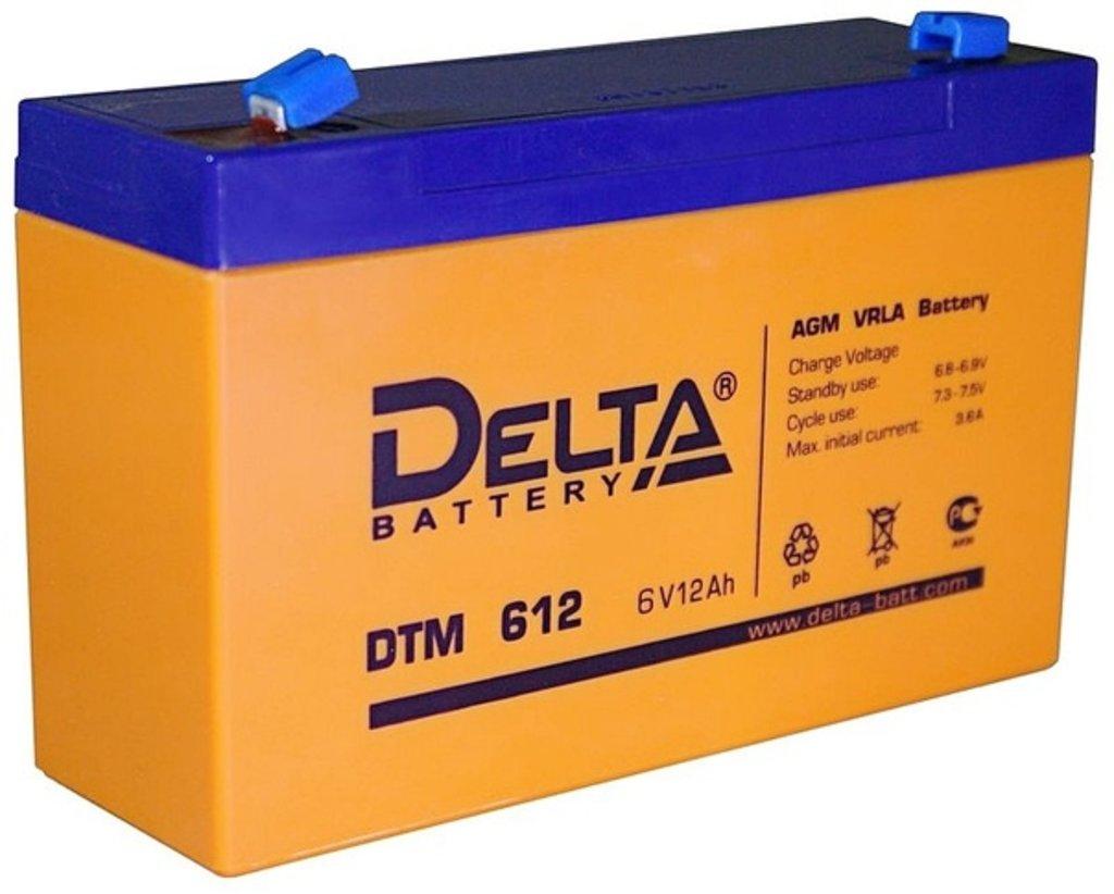 Delta: DELTA DTM 612 в БазаАКБ