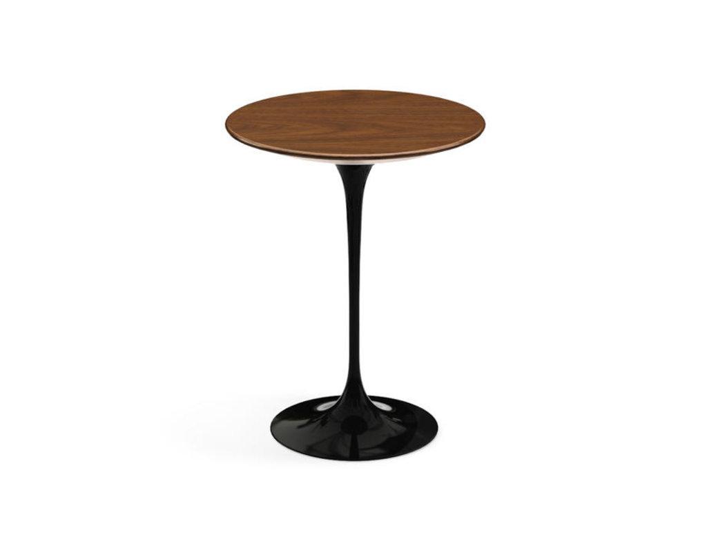 Журнальные и кофейные столики: Стол кофейный Априори T 42 см 15т столешница орех в Актуальный дизайн
