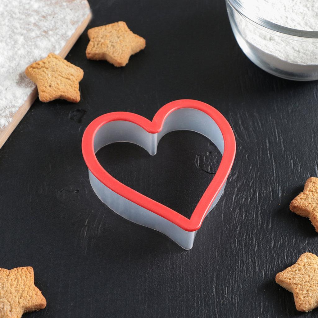 """Вырубки: Форма для печенья 9,5×10 см """"Сердце"""" в ТортExpress"""