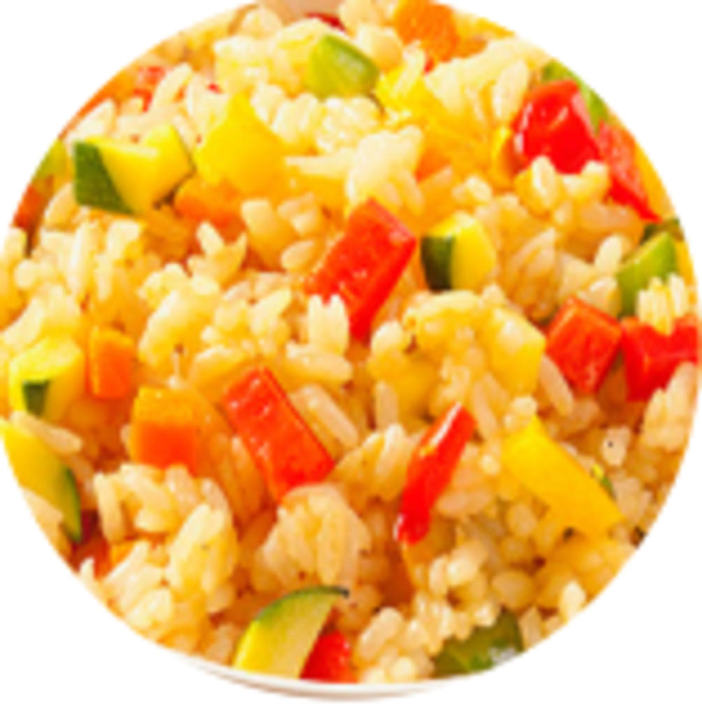 Гарнир: Рис с овощами в Обеды в офис Красноярск